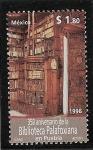 Stamps Mexico -  Centro histórica de Puebla (biblioteca Palafoxiana)