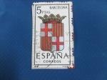 Stamps Spain -  Escudos de Capitales de Provincias de España.-BARCELONA