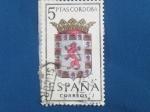 Sellos de Europa - España -  Escudos de Capitales de Provincias deEspaña.-CORDOBA