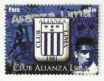 Stamps of the world : Peru :  Club Alianza Lima