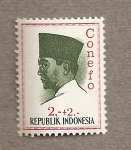 Stamps Indonesia -  Conefo