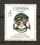 Sellos de Europa - España -  Dia del Sello / Fernando Poo.