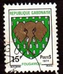 Sellos de Africa - Gabón -  Fougamou
