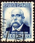 Sellos de Europa - España -  Emilio Castelar