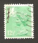 Stamps United Kingdom -  elizabeth II, emisión regional de País de Gales