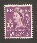 Sellos de Europa - Reino Unido -  elizabeth II, emisión regional de Irlanda del Norte