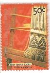 Stamps America - Argentina -  Telar vertical andino - Cultura Mapuche