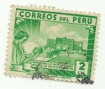 Stamps Peru -  Protección a la infancia: colonia infantil de vacaciones Ancón
