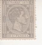 Stamps Europe - Spain -  ULTRAMAR 1876