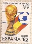 Sellos de America - España -  Copa mundial de futbol