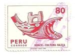 Stamps Peru -  Huaco - Cultura nazca