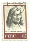 Stamps America - Peru -  precursores de la independencia: José Gabriel Condorcanqui