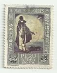 Sellos de America - Perú -  Canonización de Fray Martín