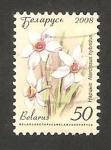 Stamps Europe - Belarus -  narciso, flor de jardín