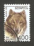 Stamps : Europe : Belarus :  un lobo