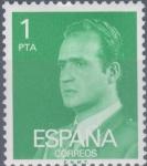 Sellos del Mundo : Europa : España : ESPAÑA 1977_2390 Don Juan Carlos I. Serie básica. Scott 1973