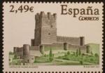 Stamps Spain -  castillo villena (alicante)