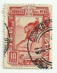 Stamps of the world : Peru :  El Chasqui: correo de los Incas