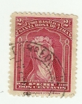 Stamps Peru -  Pro Basílica Santa Rosa de lima