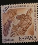 Stamps Spain -  centenario muerte don jaime I