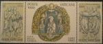 Stamps Vatican City -  centenario muerte escultor luca della robbia