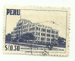 Stamps of the world : Peru :  Ministerio de Educación publica y Asistencia social