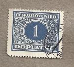 Sellos de Europa - Checoslovaquia -  Número
