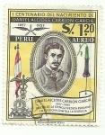 Stamps Peru -  primer centenario del nacimiento de Daniel A. CArrión Garcia