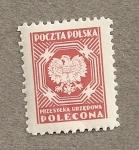 Sellos de Europa - Polonia -  Escudo nacional