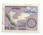 Sellos del Mundo : America : Perú : Central Hidroeléctrica Huinco