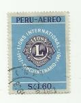 Sellos del Mundo : America : Perú : 50 Años del Leonismo