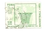 Sellos del Mundo : America : Perú : Festival mundial de Basketball