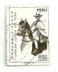 Sellos del Mundo : America : Perú : Trajes tipicos