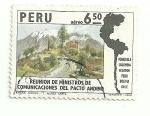 Sellos del Mundo : America : Perú : Reunión de ministros