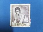 Stamps Spain -  Día del Sello.-Chiquita Piconera -Pintorres:Romero de Torres. Ed:1665.