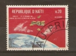 Sellos de America - Haití -  SEPARACIÒN   DEL   APOLO   8