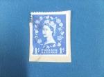Stamps United Kingdom -  Reina Isabel