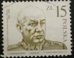 Stamps Poland -  gen broni karol swiercewski