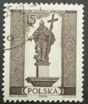 Stamps Poland -  pomnik zygmunta III