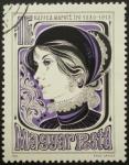 Stamps Hungary -  kaffka margit iro