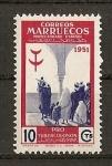Sellos de Africa - Marruecos -  Pro Tuberculosos.