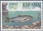 Sellos de Europa - España -  ESPAÑA 1977_2404 Fauna Hispánica. Peces continentales españoles. Scott 2032 $0.2