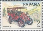 Sellos de Europa - España -  ESPAÑA 1977_2409 Automóviles antiguos españoles.  Scott 2037