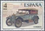 Sellos de Europa - España -  ESPAÑA 1977_2410 Automóviles antiguos españoles. Scott 2038