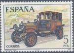 Sellos del Mundo : Europa : España : ESPAÑA 1977_2411 Automóviles antiguos españoles. Scott 2039