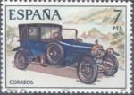 Sellos del Mundo : Europa : España : ESPAÑA 1977_2412 Automóviles antiguos españoles. Scott 2040