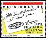 Sellos de America - México -  MEPSIRREY 88