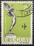 Stamps of the world : Uruguay :  correo aereo