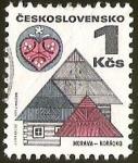 Sellos del Mundo : Europa : Checoslovaquia : MORAVA - HORACKO