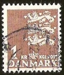 Stamps Europe - Denmark -  KGL. POST